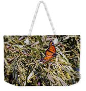 Orange Swallowtail Weekender Tote Bag