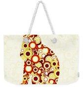 Orange Tabby - Animal Art Weekender Tote Bag