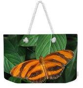 Orange Tiger Butterfly Or Banded Orange Weekender Tote Bag