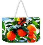 Orange Tree In Springtime  Weekender Tote Bag