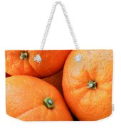 Orange Trio Weekender Tote Bag