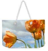 Orange Tulip Flowers Art Prints Tulips Floral Weekender Tote Bag