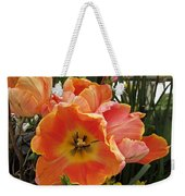 Orange Tulips Weekender Tote Bag