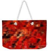 Orange Under Glass Abstract Weekender Tote Bag