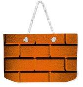 Orange Wall Weekender Tote Bag by Semmick Photo