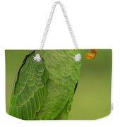 Orange-winged Parrot Amazonian Ecuador Weekender Tote Bag