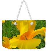 Orange Yellow Poppy Flower Art Print Weekender Tote Bag