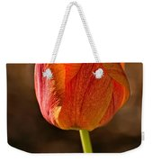 Orange/yellow Tulip Weekender Tote Bag