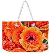 Orange You Happy Ranunculus Flowers By Diana Sainz Weekender Tote Bag
