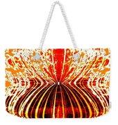 Orange Zest Weekender Tote Bag