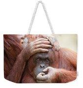 Orangrooming Weekender Tote Bag