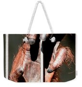 Orangutan Hand Close-up Weekender Tote Bag