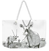 White Sands Orax  Weekender Tote Bag