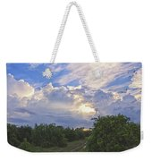 Orchard And Birds Weekender Tote Bag