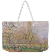 Orchard At Pontoise Weekender Tote Bag by Camille Pissarro