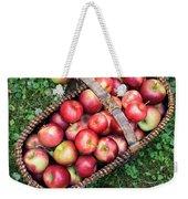 Orchard Fresh Picked Apples Weekender Tote Bag