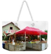 Orchard Fruit Stand Weekender Tote Bag