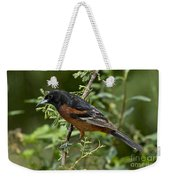 Orchard Oriole Male Weekender Tote Bag