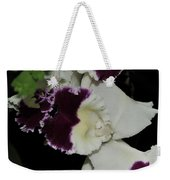 orchid 220 Cattleya Moscombe 'The King'  2 of 3 Weekender Tote Bag