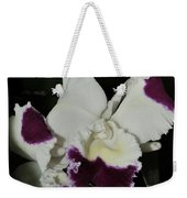 orchid 221 Cattleya Moscombe 'The King'  1 of 3 Weekender Tote Bag