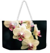 Orchid Blossom Weekender Tote Bag