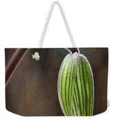 Orchid Bud Weekender Tote Bag