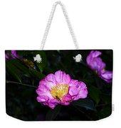 Orchid Camellia Pink - Camellia Sasanqua Weekender Tote Bag