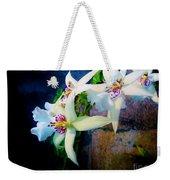 Orchid Cascade Weekender Tote Bag