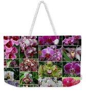 Orchid Collage 1 Weekender Tote Bag