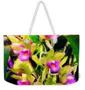 Orchid Flower Bunch Weekender Tote Bag