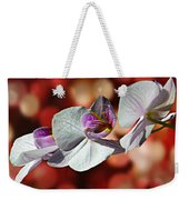 Orchid Flower Photographic Art Weekender Tote Bag
