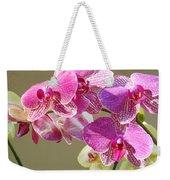Orchid Flowers Art Prints Pink Orchids Weekender Tote Bag