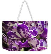Orchid Grouping Weekender Tote Bag