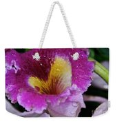 Orchid Heart And Soul Weekender Tote Bag