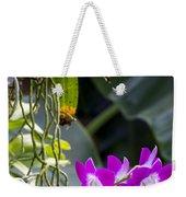 Orchid In Bloom Weekender Tote Bag