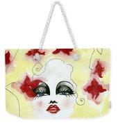 Orchid Lady Weekender Tote Bag