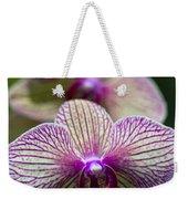 Orchid One Weekender Tote Bag