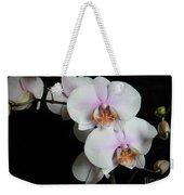 Orchid Portrait Weekender Tote Bag
