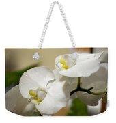 Orchid Purity Weekender Tote Bag