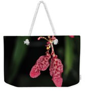 Orchid Red Renanthera Unnamed Weekender Tote Bag