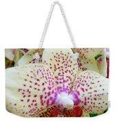 Orchid Series 5 Weekender Tote Bag