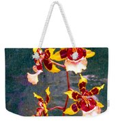 Orchid Spray By Pottery  Weekender Tote Bag