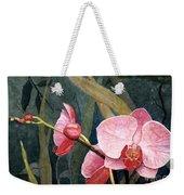 Orchid Trio Weekender Tote Bag