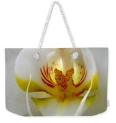 Orchid Upclose Abstract Weekender Tote Bag