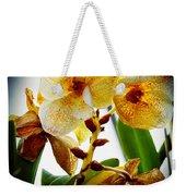 Orchid Vignette Weekender Tote Bag