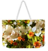Orchids And Hydrangea Weekender Tote Bag