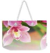 Orchids Weekender Tote Bag by Carlos Caetano