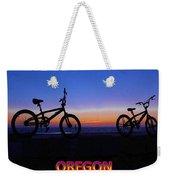 Oregon Bikes Weekender Tote Bag