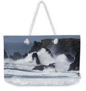 Oregon Coast Furrious Waves 1 Weekender Tote Bag