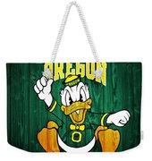 Oregon Ducks Barn Door Weekender Tote Bag